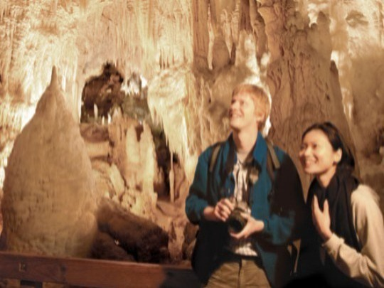 Visit two caves with our top cave combo: Ruakuri and Aranui Caves